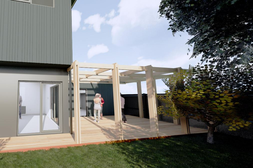 Renovation/Extension to a Heritage Home in Blackburn – under Construction