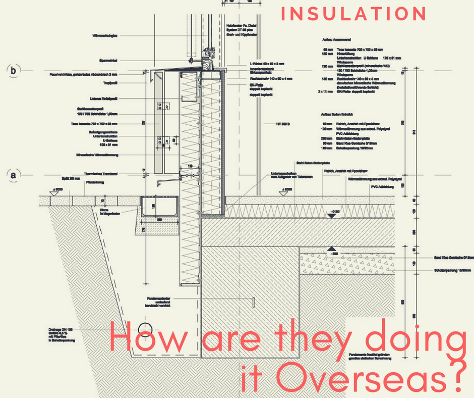 Insulation How Are They Doing It Overseas Gr 220 N Eco Design