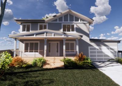 Passive House Viewbank – Under Construction