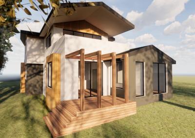 Sips Passive House Blackburn – Under construction