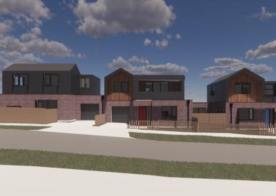 3 Townhouse Development Reservoir