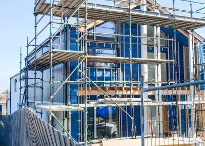 Passive House Balwyn North – under construction